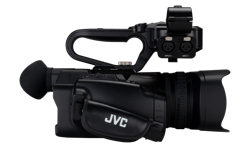 Image of Compact live streaming 4K camcorder with SDI and broadcast overlay (GY-HM250E)